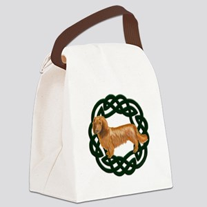 Celtic Longhair Dachshund Canvas Lunch Bag