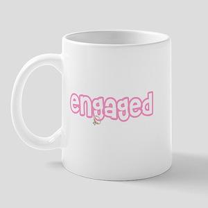 Engaged (Pink) Mug