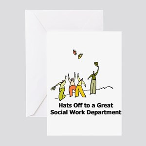 Great Social Work Department Greeting Cards