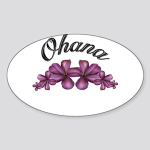"""OHANA"" Rectangle Sticker"