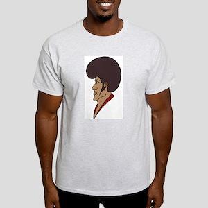 Afro Man Ash Grey T-Shirt