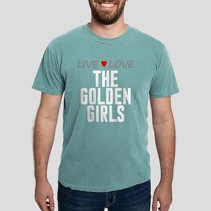 Live Love The Golden Girls Mens Comfort Colors Shi