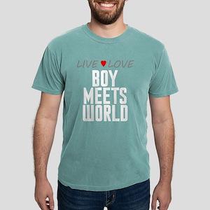 Live Love Boy Meets World Mens Comfort Colors Shir