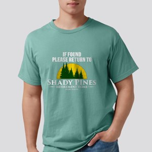Return to Shady Pines Mens Comfort Colors Shirt