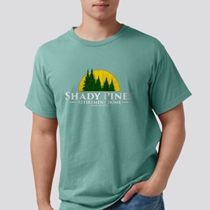 Shady Pines Logo Mens Comfort Colors Shirt