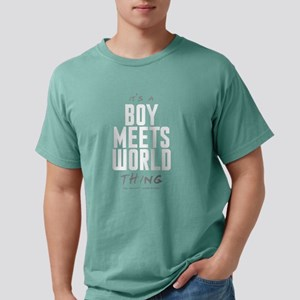 It's a Boy Meets World Thing Mens Comfort Colors S