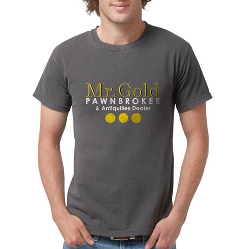 Mr. Gold Pawnbroker Mens Comfort Colors Shirt