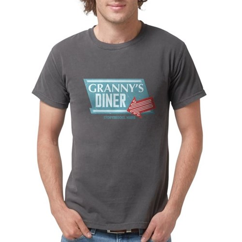 Granny's Diner Mens Comfort Colors Shirt