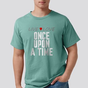Live Love Once Upon a Time Mens Comfort Colors Shi