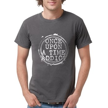 Once Upon a Time Addict Stamp Mens Comfort Colors