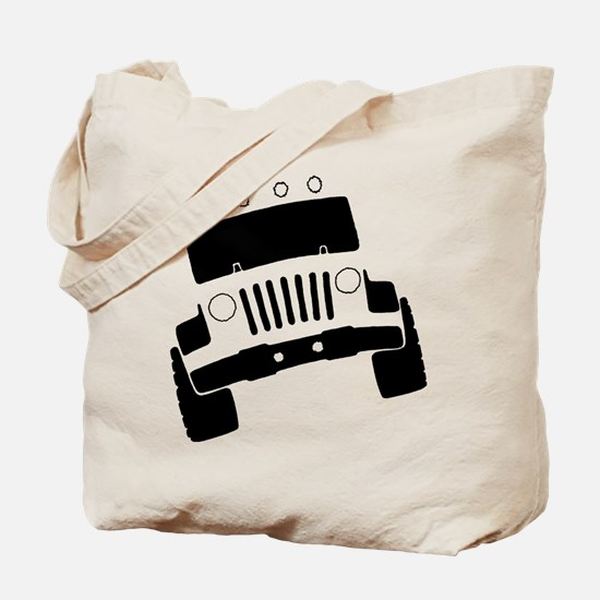 Jeepster Rock Crawler Tote Bag