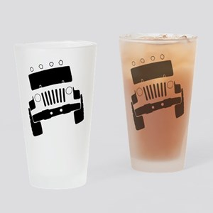 Jeepster Rock Crawler Drinking Glass