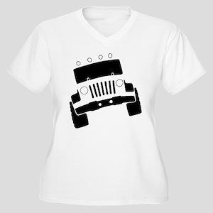 Jeepster Rock Crawler Plus Size T-Shirt