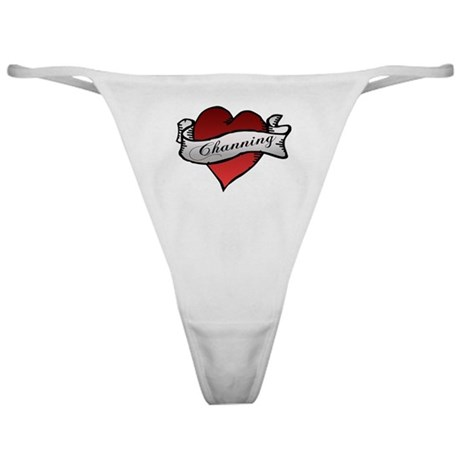 Channing Tattoo Heart Classic Thong