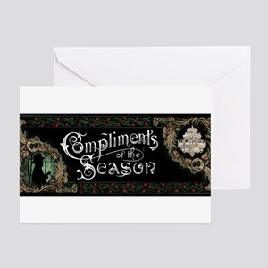 Phantom Of The Opera Christmas C Greeting Cards
