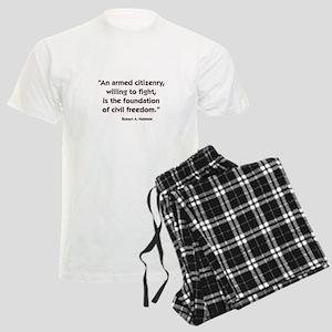 Armed Citizenry Men's Light Pajamas
