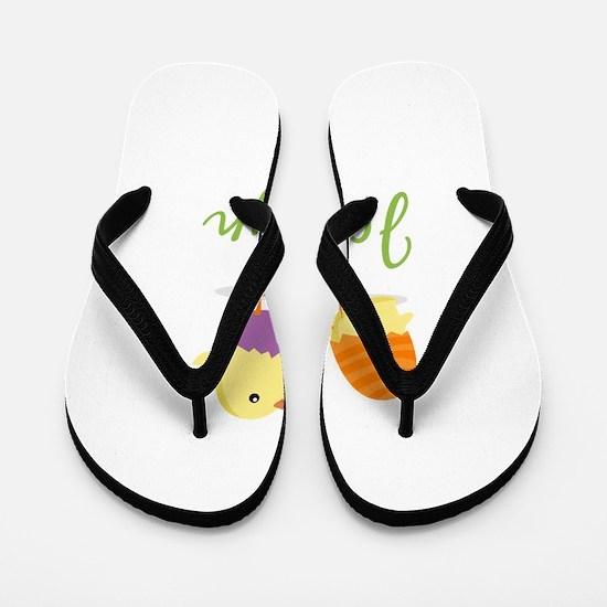 Easter Chick Jocelyn Flip Flops