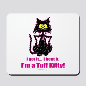 BREAST CANCER Cat - Mousepad