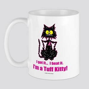 BREAST CANCER Cat - Mug