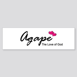 Agape Love Bumper Sticker