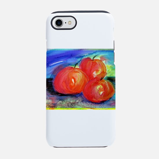 Red Apples, fruit art! iPhone 7 Tough Case