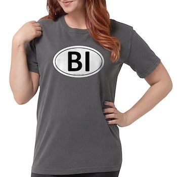 BI Euro Oval Womens Comfort Colors Shirt