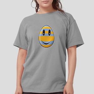 Smiley Easter Egg Womens Comfort Colors Shirt