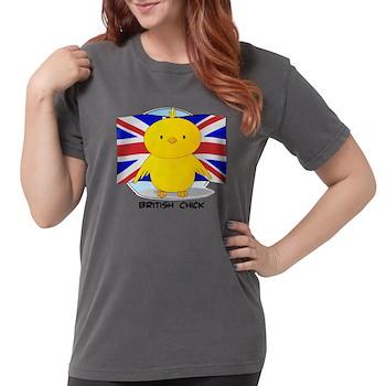 British Chick Womens Comfort Colors Shirt