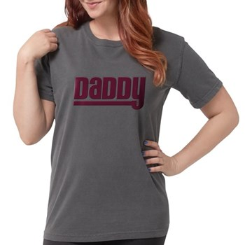 Daddy - Red Womens Comfort Colors Shirt