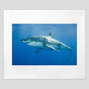 Great White Shark King Duvet