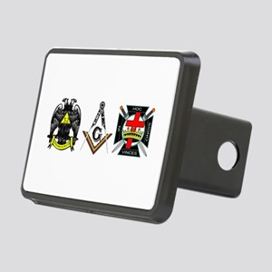 Multiple Masonic Bodies Rectangular Hitch Cover