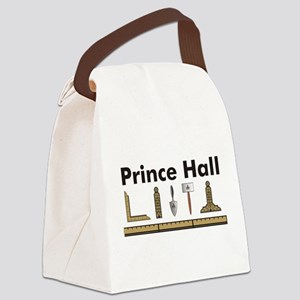 7-6-5-4-3-Prince Hall Canvas Lunch Bag