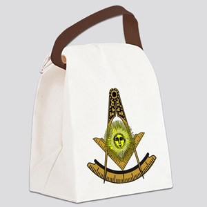 Past Masters No 5 Canvas Lunch Bag