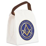Golden Rule Lodge Canvas Lunch Bag