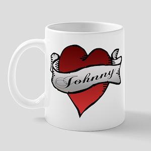 Johnny Tattoo Heart Mug