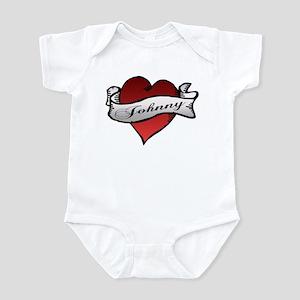 Johnny Tattoo Heart Infant Bodysuit