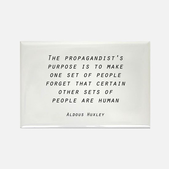 Propaganda Rectangle Magnet