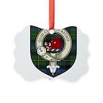 Baillie Clan Crest Tartan Picture Ornament