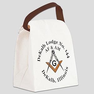 DeKalb Lodge no 144 Canvas Lunch Bag
