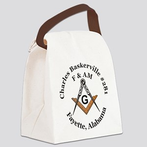 Charles Baskerville no 281 Canvas Lunch Bag