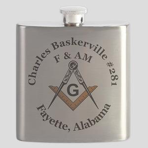 Charles Baskerville no 281 Flask