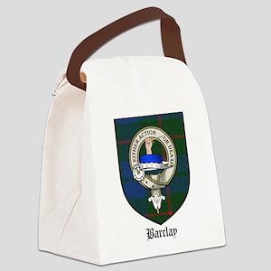 Barclay Clan Crest Tartan Canvas Lunch Bag
