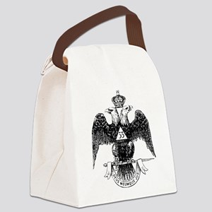 Scottish Rite 33 Canvas Lunch Bag