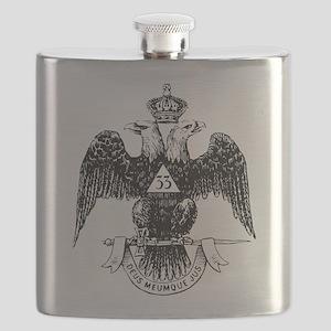 Scottish Rite 33 Flask