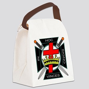 Knight of the Temple Canvas Lunch Bag