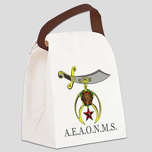 Prince Hall Shrine Canvas Lunch Bag