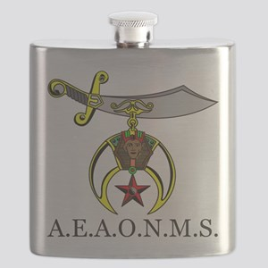 Prince Hall Shrine Flask