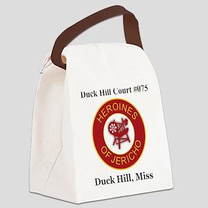 Duck Hill Court 075 Canvas Lunch Bag