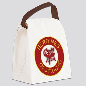 Heroines of Jericho Canvas Lunch Bag