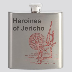 Heroines of Jericho Flask